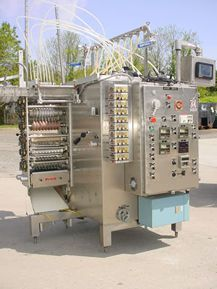 Paxall V12H8S, LIQUID/CREAM FORM/FILL/SEAL POUCH MACHINE