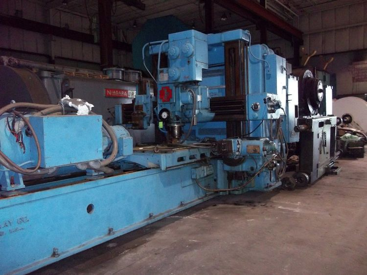 Gray DOUBLE HOUSING PLANER MILL & PLANER Variable