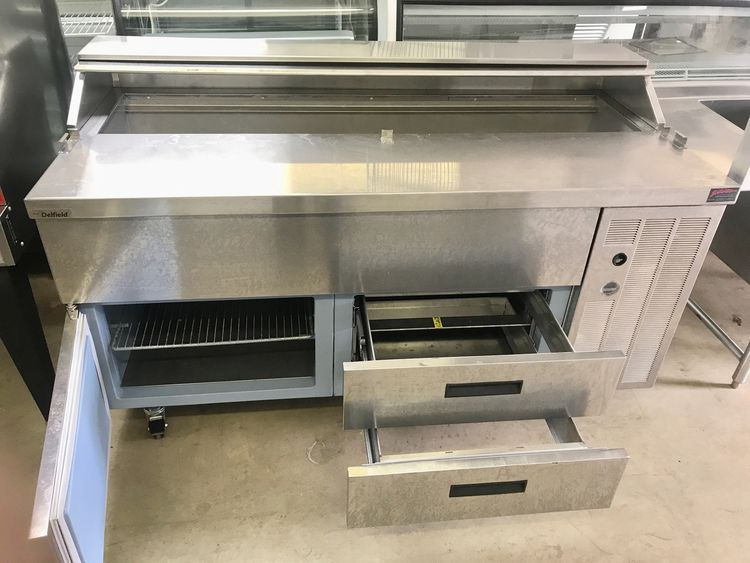 Delfield 18SC68V SANDWICH UNIT WITH DRAWERS