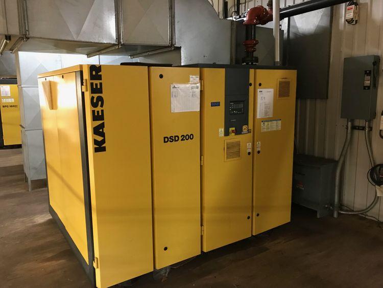 Kaeser DSD 200 865 cfm air capacity @ 145 psig