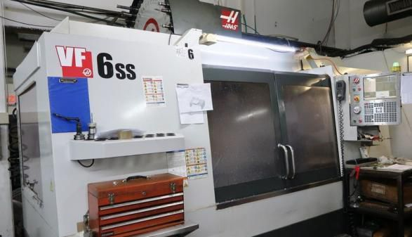 Haas VF-6SS with Rotary 3 Axis