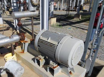 Siemens 125HP Motor