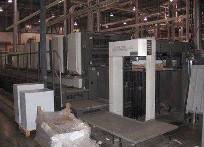 """Komori LS640, 6 Colors Offset Machine with Coater Max. 20 x 28"""""""
