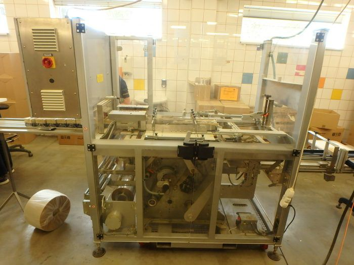 Marden Edwards BX100 FF S5  automatic overwrapping machine