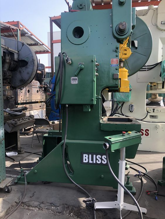 Bliss C-60 punch press 60 Ton
