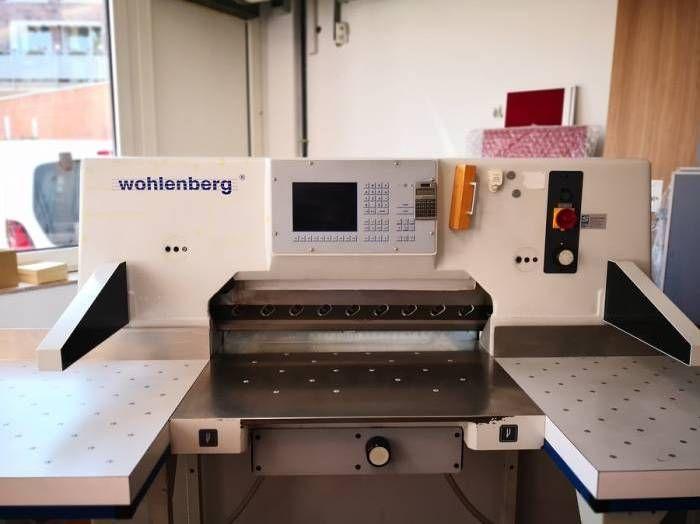 Wohlenberg Cut-tec 92, Paper guillotine machine