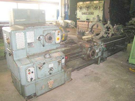 WMW Niles Engine Lathe Max. 1800 rpm Niles DWLZ 630