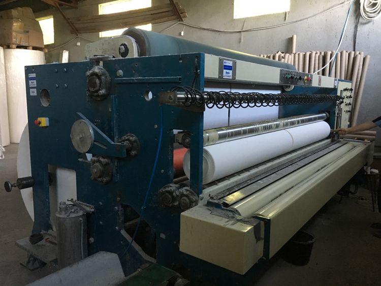 Tissue paper rewinder, Lyish, year 2010 2800 mm