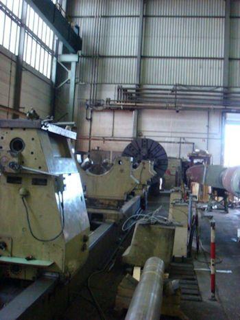 Magdeburg Cylinder lathe 140 rpm DxP 3/3 x 20000