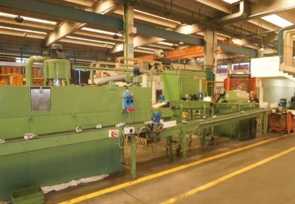 Kawasaki Picchi Transfer machine with Kawasaki robot Machining department