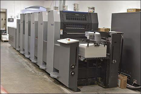 Heidelberg SM52-5P+LX 14 x 20 inch