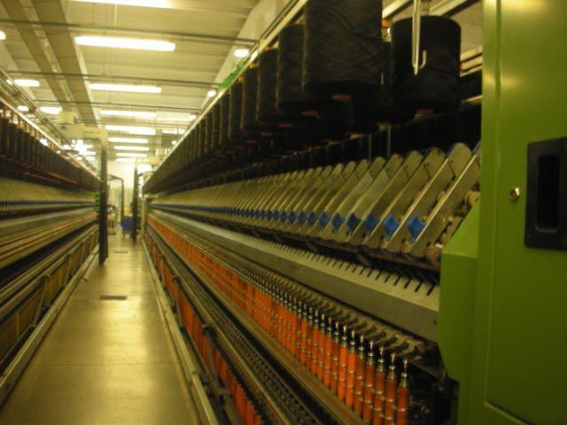 5 Gaudino, Savio spinning machine Gaudino 480 and 540 spindles spinning machine link with cone winder 12 and 16 heads