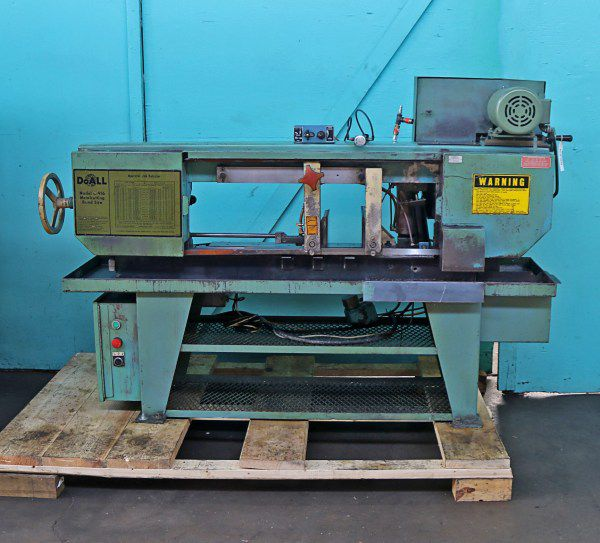 Do All C-916 Horizontal Hydraulic Bandsaw Semi Automatic