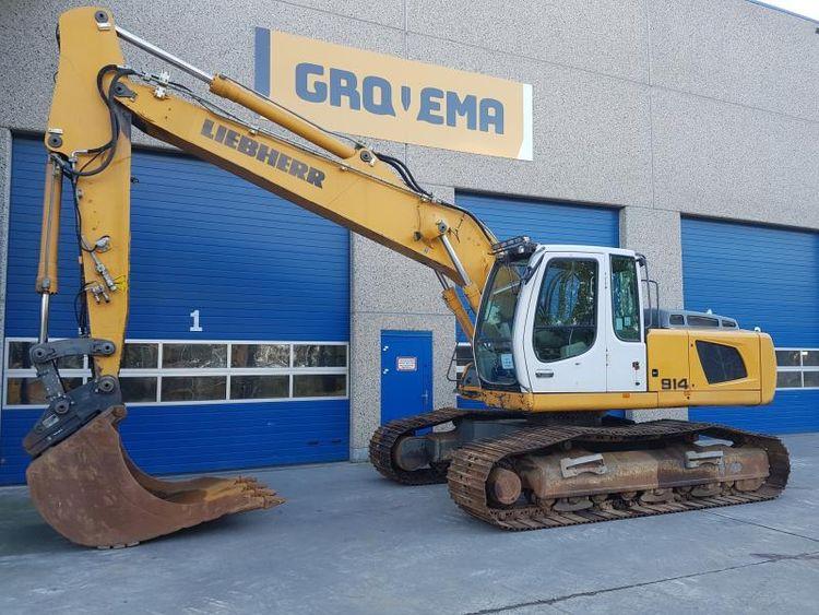 Liebherr R914C Tracked excavators