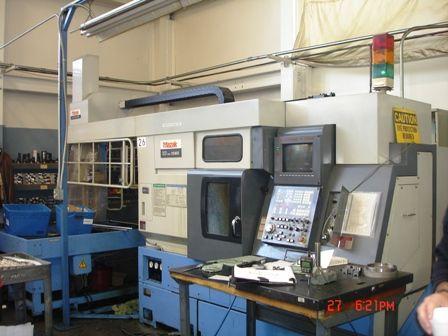 Mazak MAZATROL T-PLUS CNC CONVERSATIONAL CONTROL Max. 5000 rpm SQT10MS 2 Axis