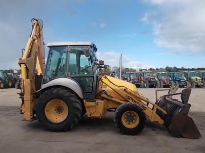 New Holland NH 95 Backhoe Loader