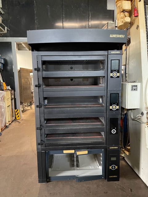 Wiesheu EBO 5-86 Deck Oven with proofer