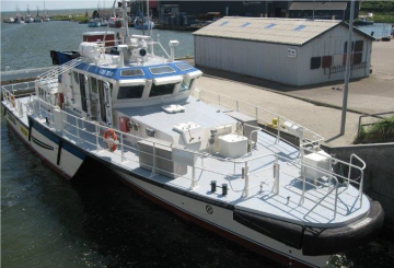 Passenger vessels GT 81,8 / NT 24,5 tons.
