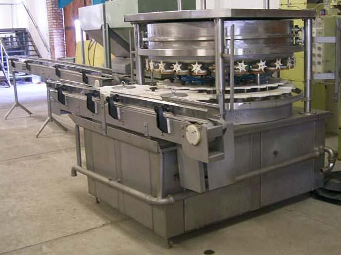 Webomatic Packaging machine with 2 chambers