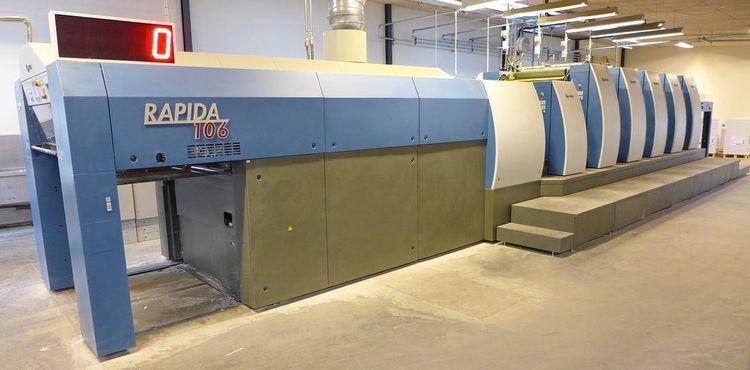 KBA RAPIDA 106 SIS-5+L CX FAPC LV2 74 x 106 cm