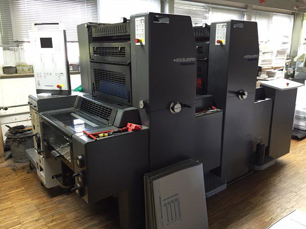 Heidelberg PM 52 2 370 x 520 mm