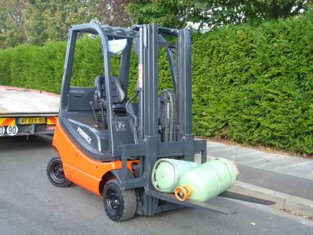 Fenwick H16T LPG Forklift 1600 kg