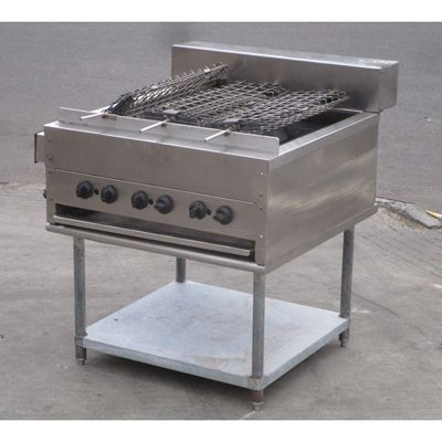 Others Double Sided Rotating Heavy Duty Radiant Broiler Grill