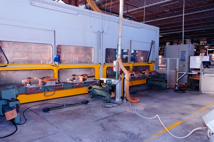 CMS SA48-2R8-2RR-2BAS, Cnc working center for curved pieces 7