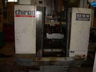 Chiron DZ 12 W 3 Axis