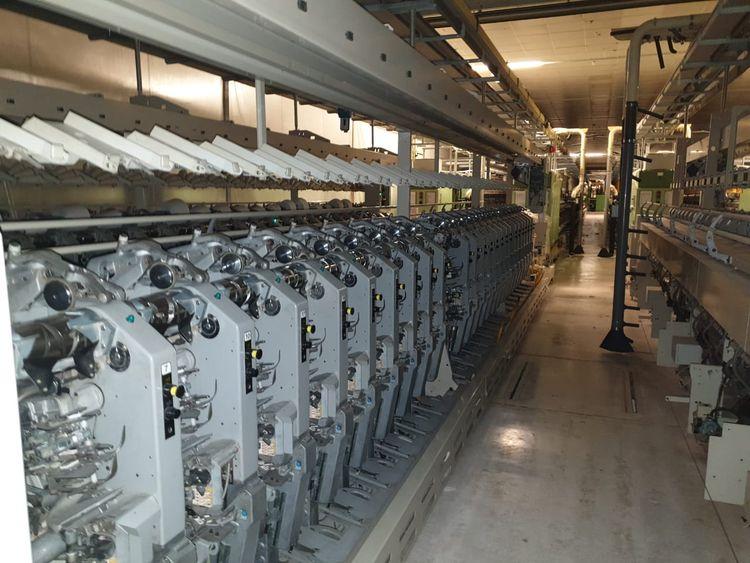 Spinning frames Rieter G33