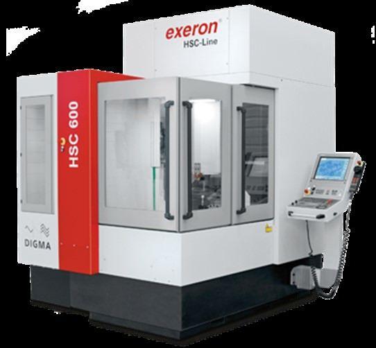 Exeron HSC600 5-Axis 5