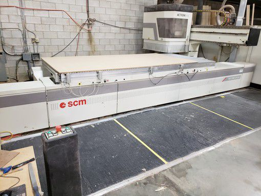 SCM RECORD 210 AL 5X12 FT CNC MACHINING CENTER