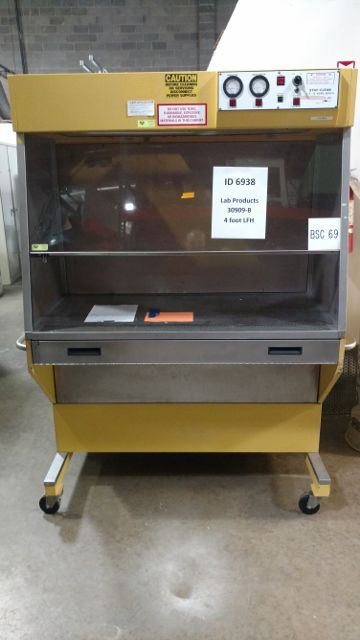 Other 30909B, Stay Clean 4 foot laminar flow hood