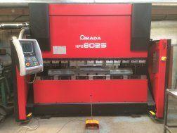 Amada HFE 8025 Long Stroke Hydraulic Downstroking Press Brake 80 Ton
