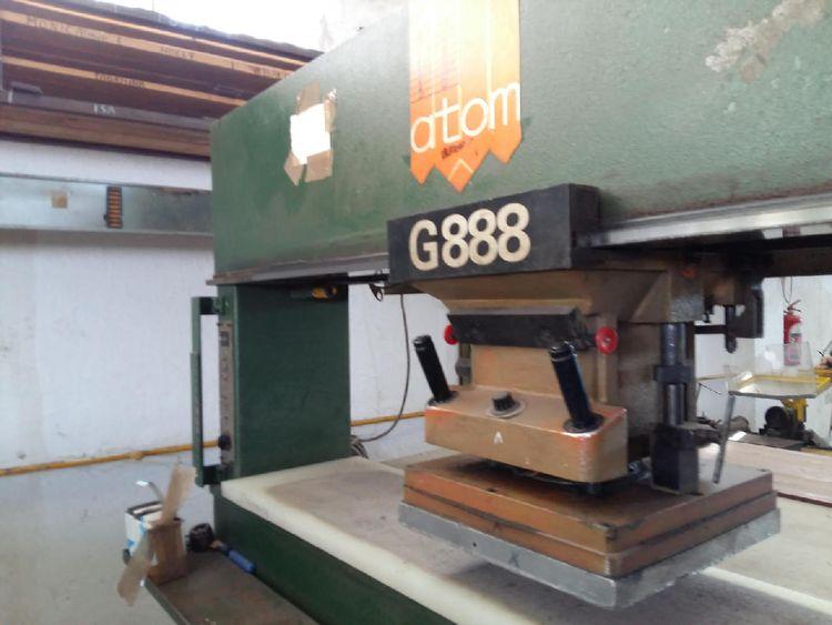 Atom G888 15 T Traveling head stamping / cutting machine
