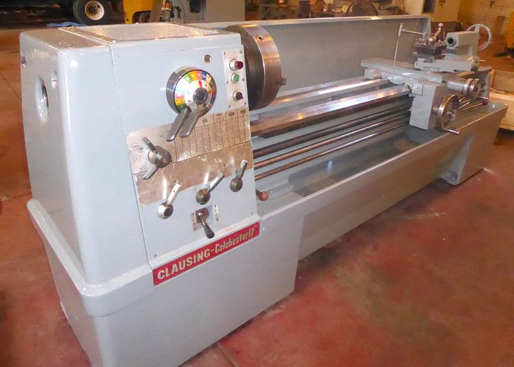 """Clausing Colchester Engine Lathe Variable 17"""""""