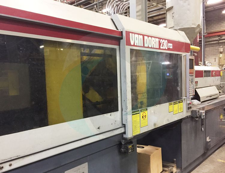 Van Dorn INJECTION MOLDING MACHINE 230 T