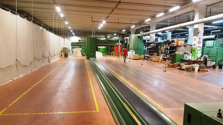 Schlafhorst, Trützschler, Vouk Complete Open-End Plant 3456 Rotors