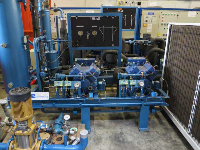 Bock HGX5/725-4S / Used Cooling/Freeze Unit 126 kW/37 tons