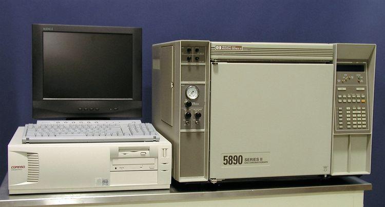 HP 5890 Series II Single Detector GC System