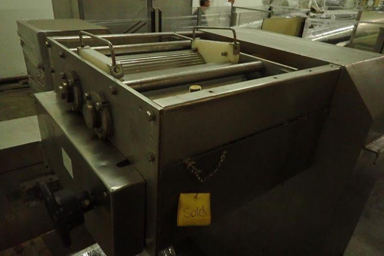 Moline SS 3-roll extruder