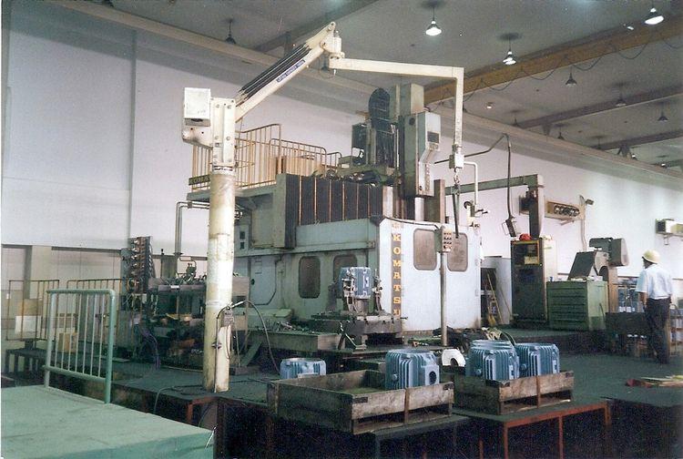 Komatsu BTM 12Y Sliding Table Boring Mill 50.00 in1270.00mm 1600 rpm