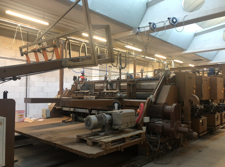 Gandossi & Fossati CASEMAKER  Flexo 2 col. refurbished 2018, perfect cond. ! 3.600 x 1.650 mm