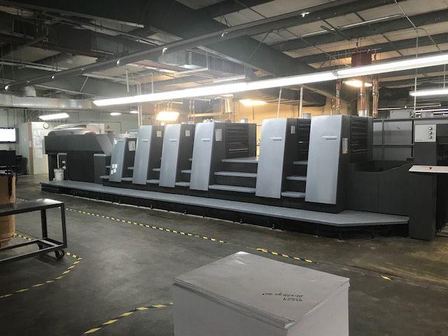 Heidelberg CD74-5P+LX (F) 23x29 inch