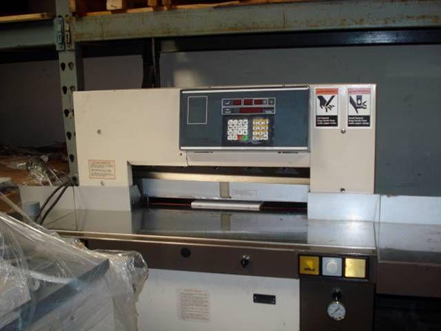 EBA Multicut 10/720 CNC, Paper Cutter