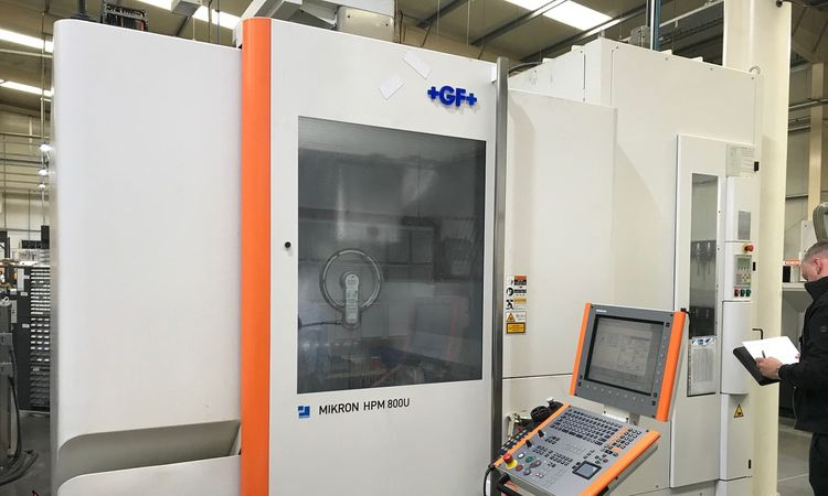 Mikron HPM 800U 5 Axis