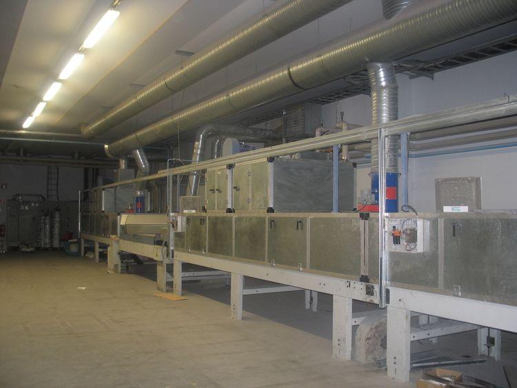 Wood Furniture factory lacquer - painting line FALCIONI    COMLMPIANTI