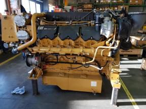 2 Caterpillar C32DITTA Marine Engine