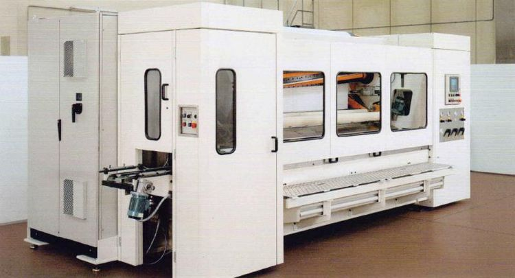 Perini 2700 mm 716B TR & KTW rewinder compact store, with OR without lamination,  with OR without packaging