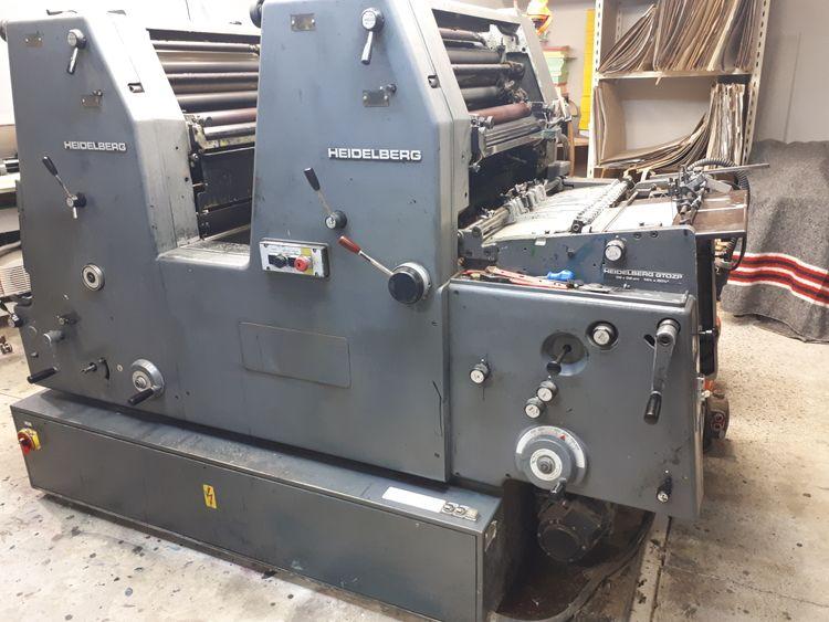 Heidelberg GTO 52-2   + Other equipment